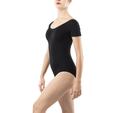 Black Body Rhythmic Gymnastics Training Costume № 2