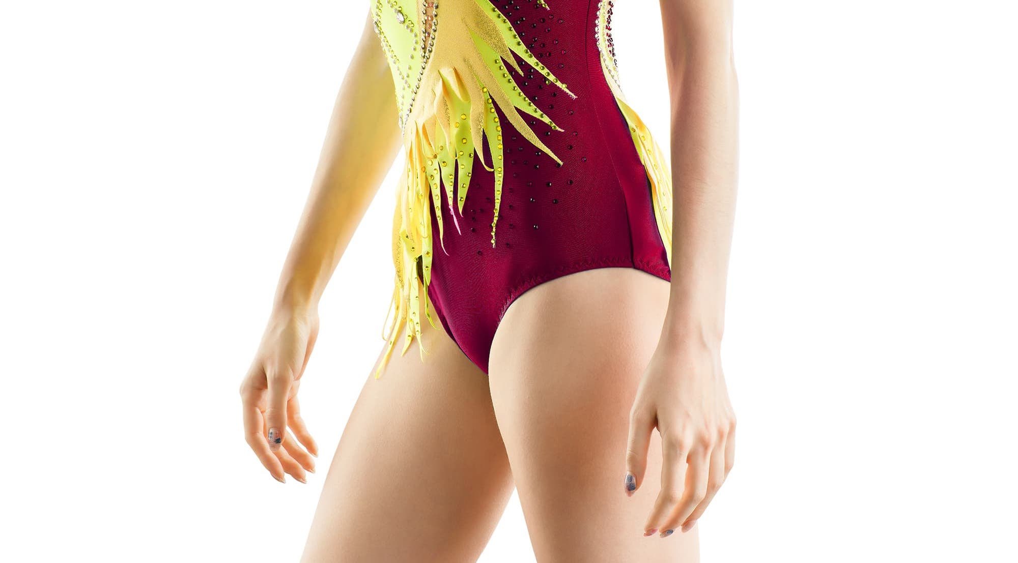 Type of skirts for baton twirling, Acrobatic Gymnastics Leotard & other sports