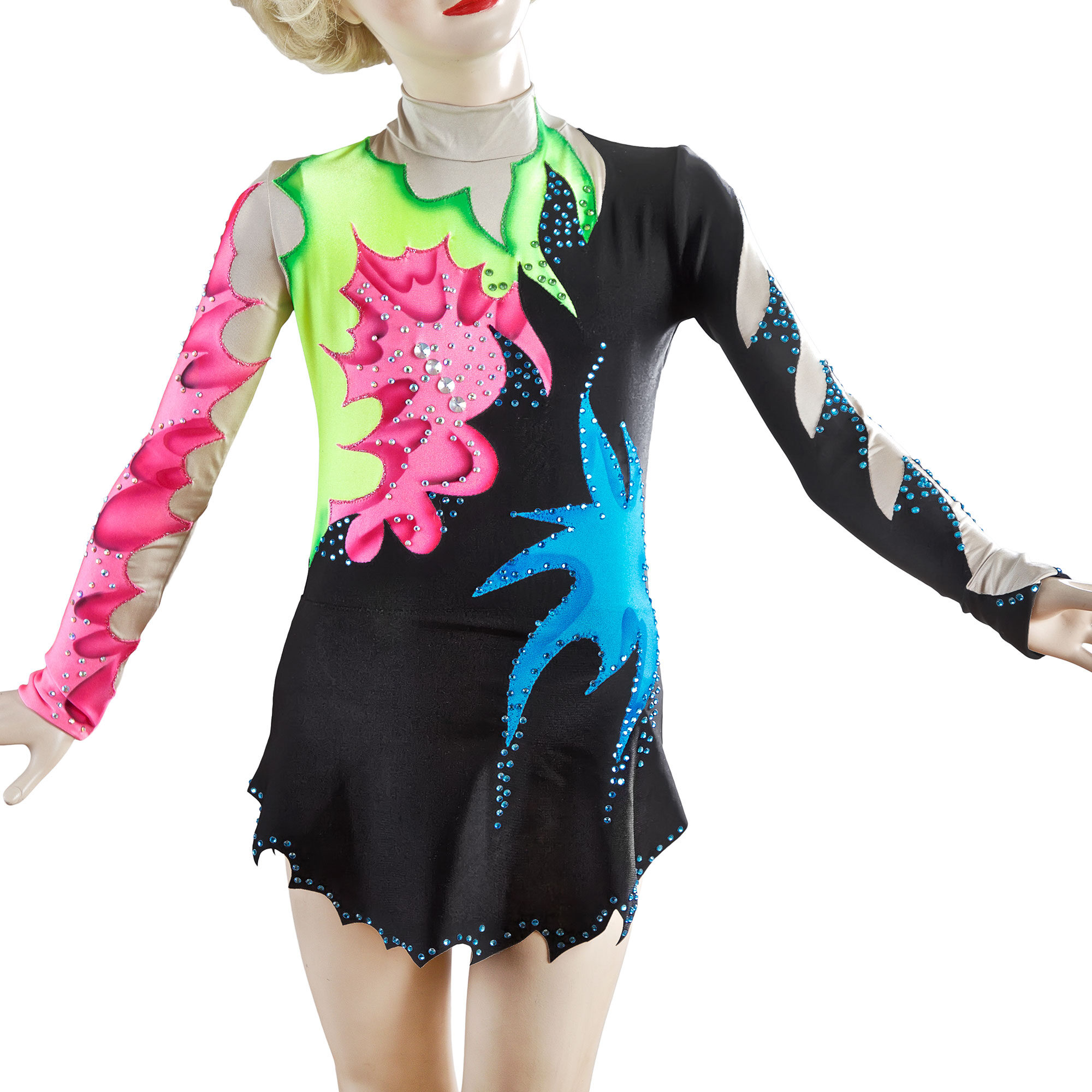 Rhythmic Gymnastics Leotard № 163