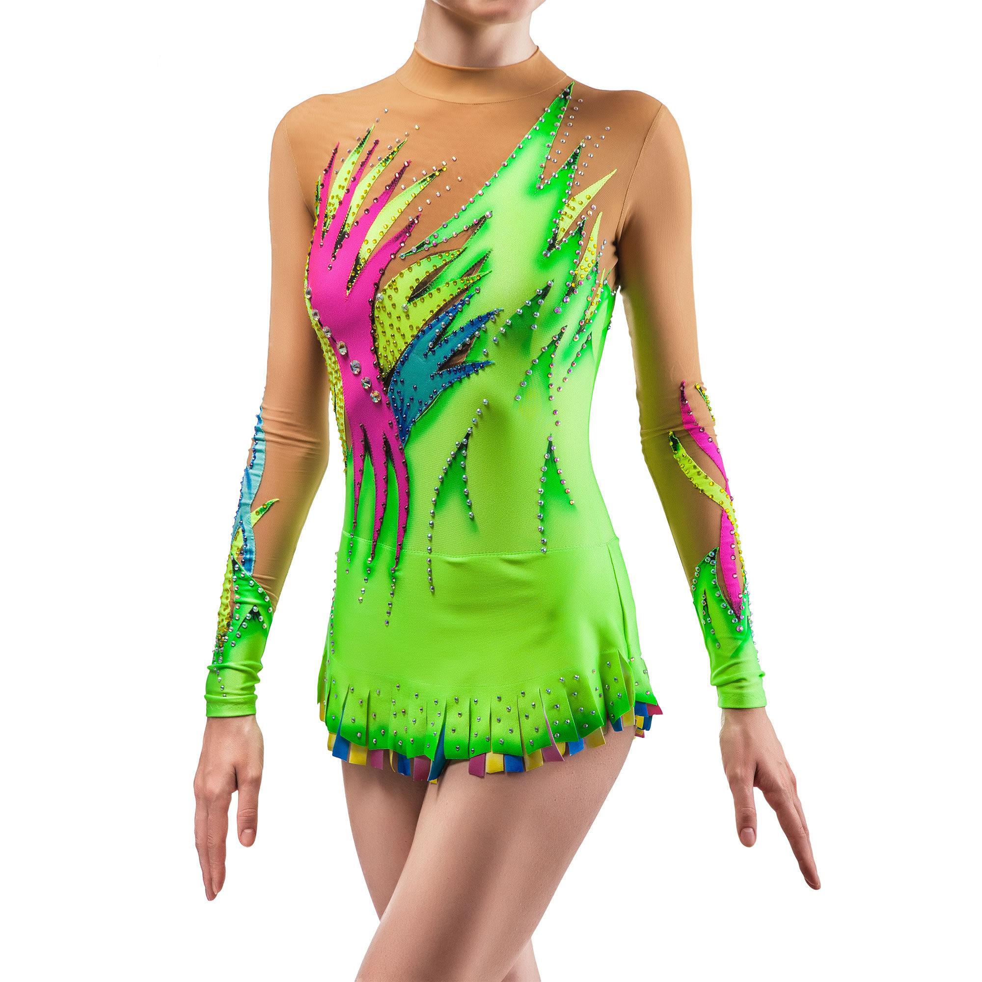 3a72ab662 Rhythmic Gymnastics Costumes   Rhythmic Gymnastics Leotard ...