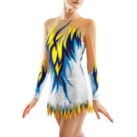 Rhythmic Gymnastics Leotard 187 for competitions
