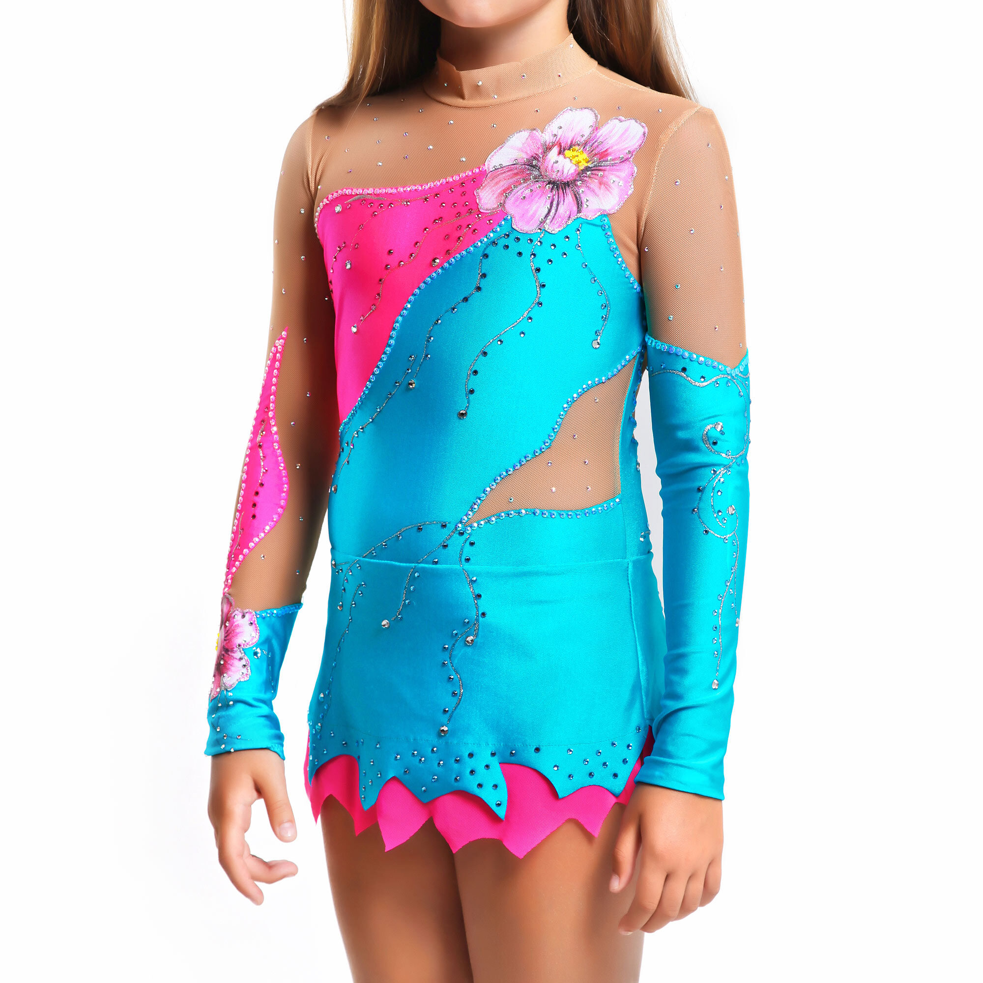 Rhythmic Gymnastics Competition Leotard 66